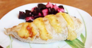 Нежное куриное филе в сметанно-чесночном маринаде