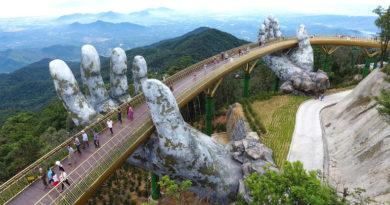Золотой мост в Дананге — место во Вьетнаме, которое обязательно стоит посетить
