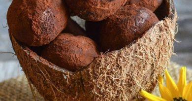 Ореховые шоколадные трюфели