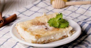 Бугаца - пирожное с манным кремом
