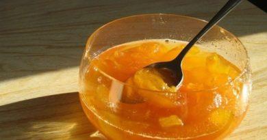Очень вкусное варенье из абрикосов с кокосом