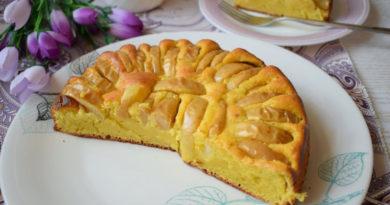 Яблочный пирог по старинному рецепту