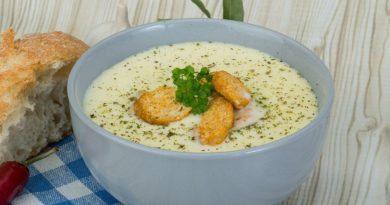 Сырный суп (с плавленным сырком) с курицей