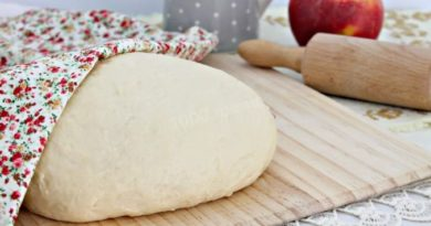Рецепт теста для пирогов