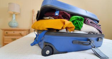 4 причины, по которым трудно разбирать чемодан после отпуска