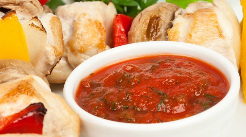 Кавказский соус к шашлыку