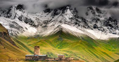 5 волшебных мест в горах Грузии