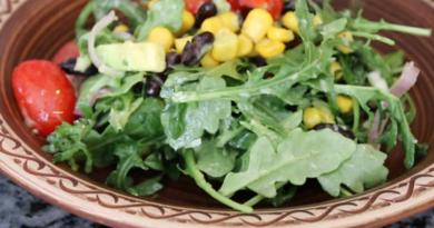 Очень полезный овощной салат