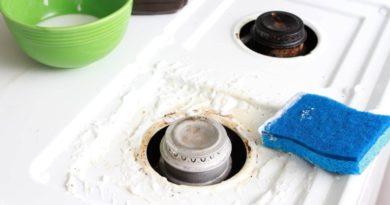 Самый ленивый и самый эффективный способ мытья газовой плиты