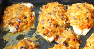 Потрясающе вкусное блюдо: куриное филе с овощами