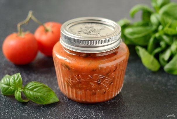 Итальянский томатный соус на зиму