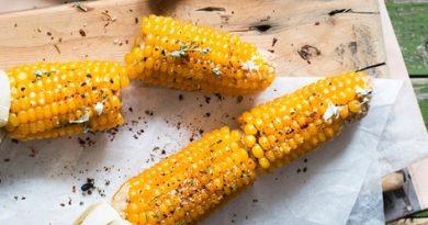 Кукуруза с ароматным маслом
