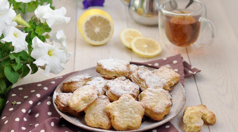 Ванильно-лимонное печенье