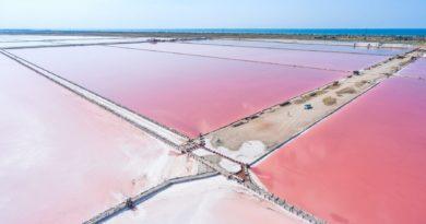 Где находится Розовое озеро в Крыму?