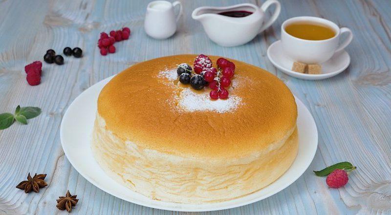 Оригинальный десерт: воздушный чизкейк из Японии
