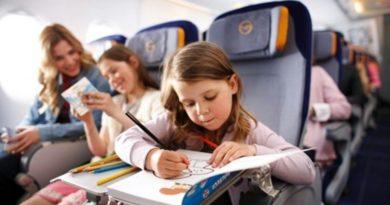 Как подготовить ребенка к полету на самолете