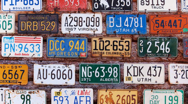 Автомобильные номера в США: 7 интересных фактов из истории