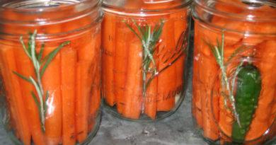 Маринованная морковь «Закусочная»