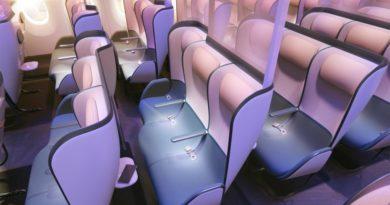 Полеты после пандемии: как могут выглядеть салоны самолета с новым защитным дизайном