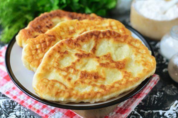 """Пирожки """"Лапти"""" с картошкой"""