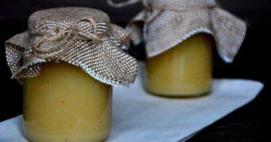 Повидло из дыни и бананов