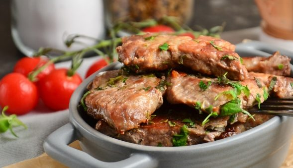 Мясо по-цыгански