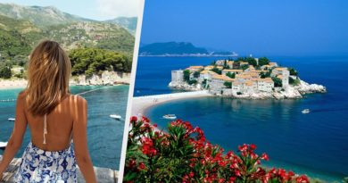 Туроператоры назвали цены на туры в Черногорию