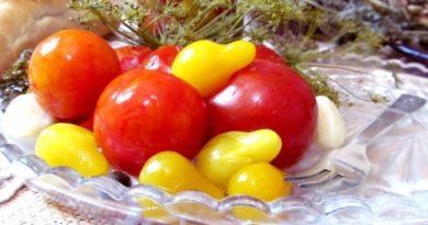 Маринованные томаты «Ассорти»
