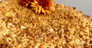 Сбричолата с яблоками — сладкий пирог итальянской кухни