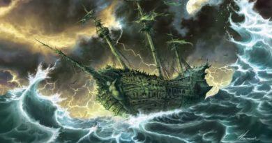 Легенда о корабле-призраке - Летучем Голландце