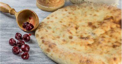 Супер вкусный осетинский пирог с вишней «Балджин»
