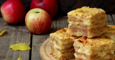 Яблочный пирог: готовим на спас