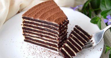 Шоколадный торт «Спартак»: десерт для будней и праздников