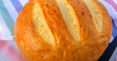 Домашний хлеб на кефире: просто и вкусно