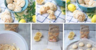 Нежнейшее лимонное печенье