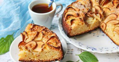 Датский пирог с грушами