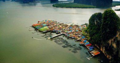 Куда стремятся те, кто устал от городской суеты: тайская деревня Паньи