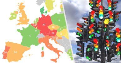 Система «Светофор» для туристов: Евросоюз готовит нововведения
