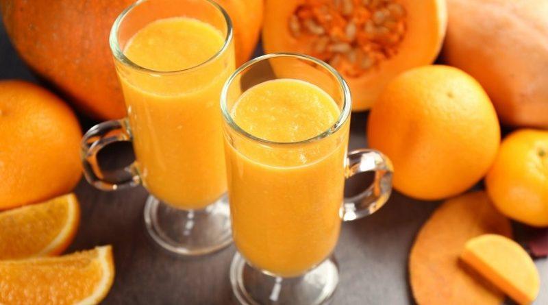 Тыквенно-апельсиновый сок с мякотью: закрываем полезный напиток на зиму