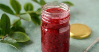 Варенье из красной смородины за 5 минут