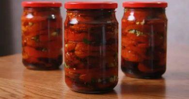 Салат «Ленивый» из помидоров на зиму