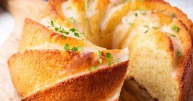 Лимонно-имбирный кекс