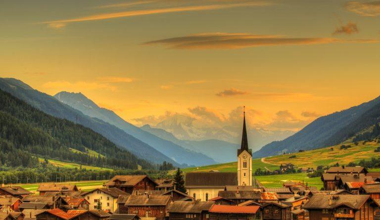 Увидеть всю Швейцарию за час — действительно ли это возможно