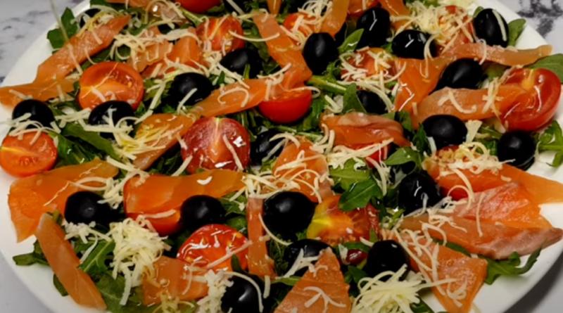 Салат «Кокетка» — отличное блюдо к празднику