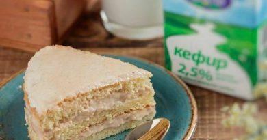 Торт с диетической варёной сгущёнкой