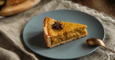Тыквенный пирог со сливочным сыром