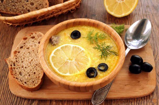 """Ооооочень вкусный суп на обед. """"Греческий"""""""