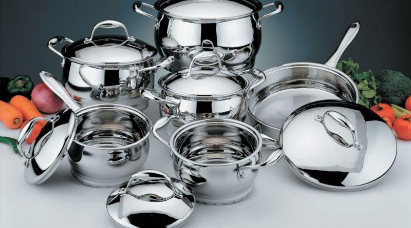 Как мыть посуду из нержавеющей стали