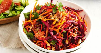 Аппетитный салат из тыквы