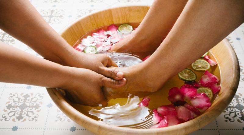 Специальные ванночки для красивых ног